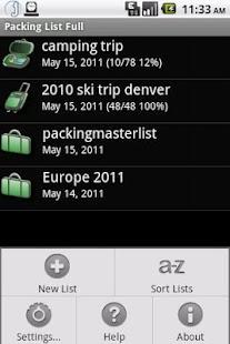 Packing List Cloud Connector- screenshot thumbnail