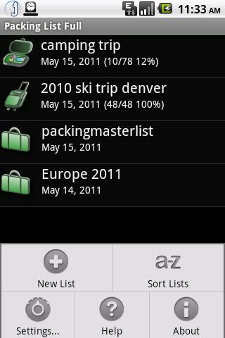 Packing List Cloud Connector- screenshot