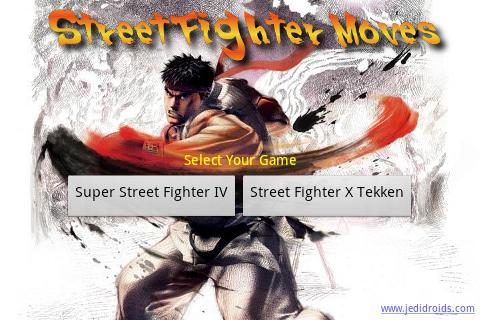 Street Fighter Moves - screenshot