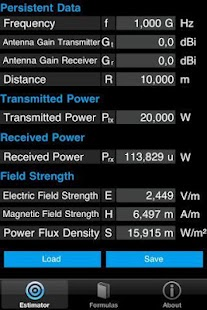 FieldStrength & PowerEstimator - screenshot thumbnail