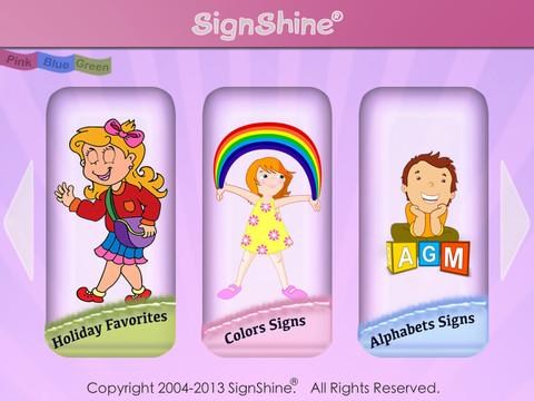 SignShine- screenshot