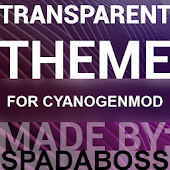 Transparent Purple -CM12 Theme