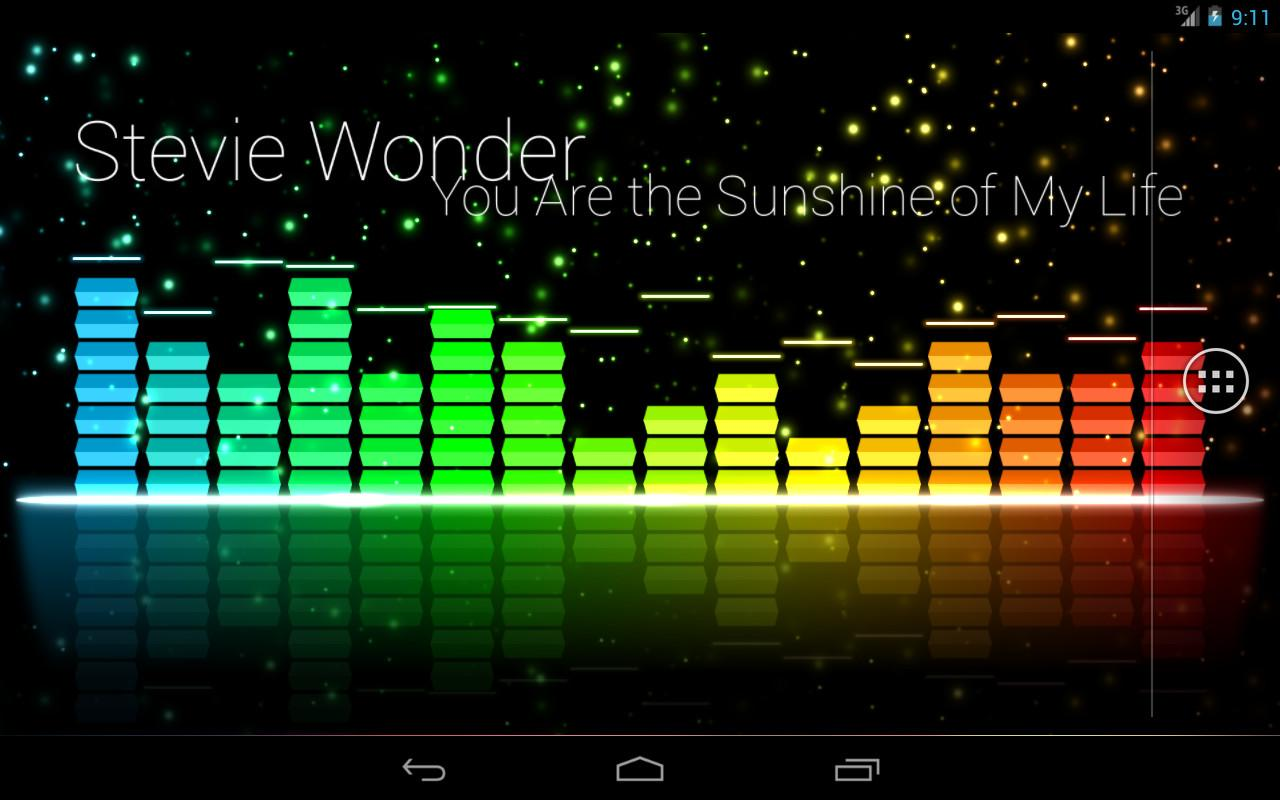 Audio Glow Live Wallpaper
