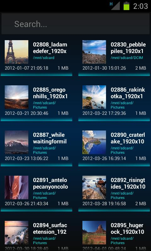 Advanced Explorer Pro- screenshot