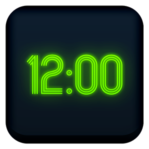 Neon Clock for Gear Fit APK