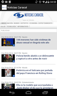 Noticias Caracol - screenshot thumbnail