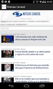 Noticias Caracol - screenshot thumbnail