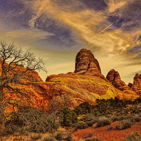 MOAB by Mike Moss - Landscapes Deserts