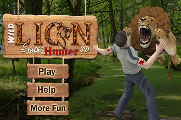 Safari Wild Lion Sniper Hunter - screenshot