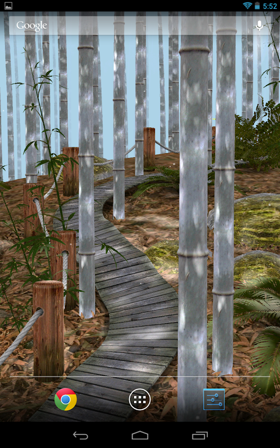Bamboo Forest 3D Wallpaper- screenshot