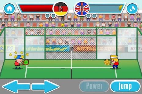 桨网球游戏