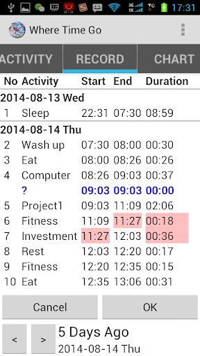 玩生產應用App|時間去哪了免費|APP試玩