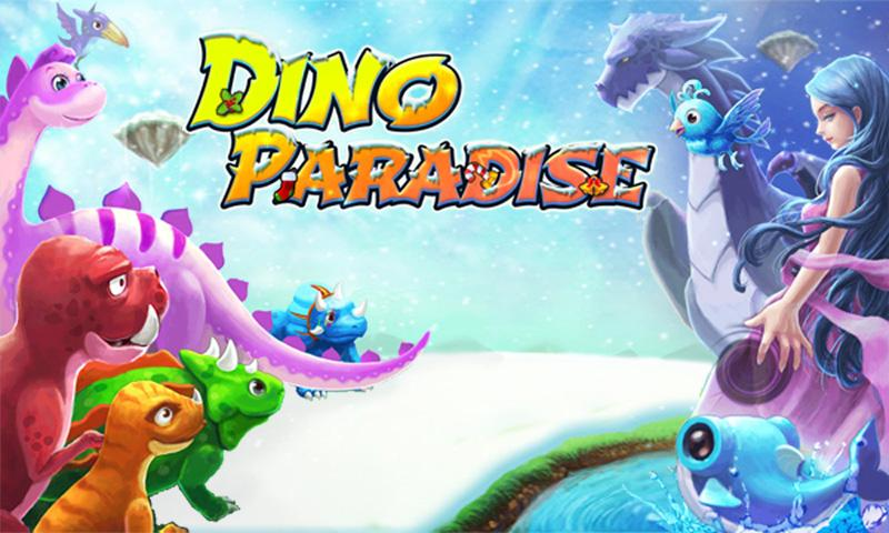 Dino Paradise with Papaya - screenshot