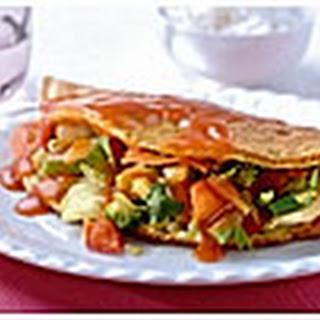 Foo Yong Hai met gewokte groenten