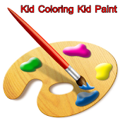 Kid Coloring Kid Paint Tip