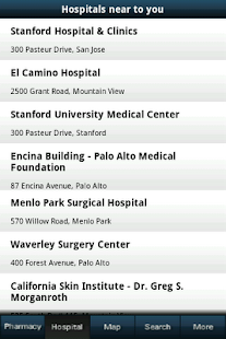Hospital and pharmacy finder - screenshot thumbnail