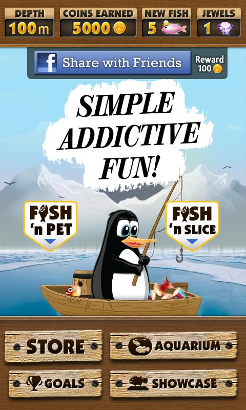 Alex the Fishing Penguin - screenshot