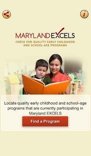 Maryland EXCELS Quality Finder