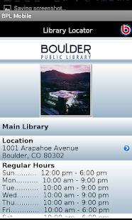 Boulder Public Library- screenshot thumbnail