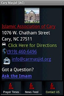 Cary Masjid (IAC)- screenshot thumbnail