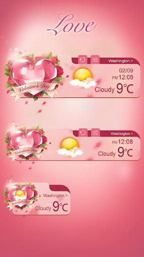 Love Theme GO Weather EX