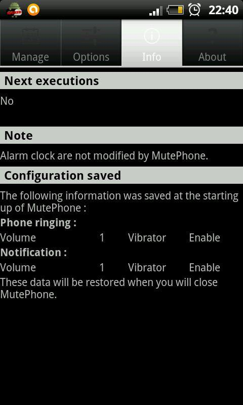 MutePhone - screenshot