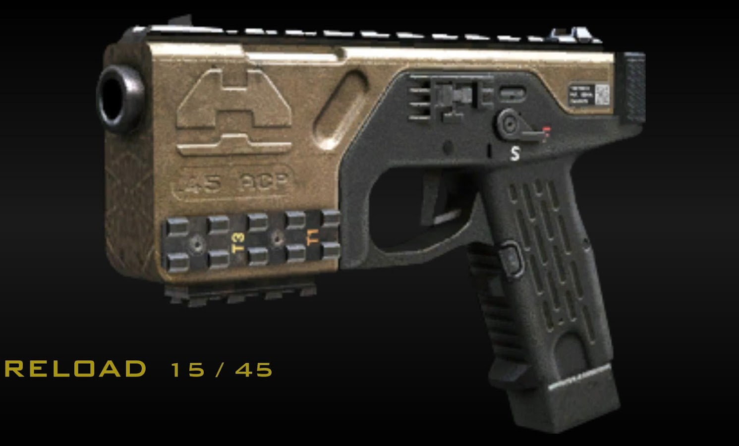 Description the best of the best advanced warfare guns and weapons