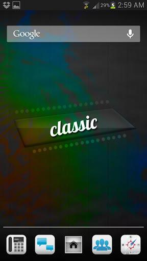 Classic HD Apex Nova Theme v1.0 APK