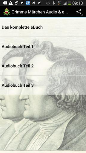Grimms Märchen Audio Buch
