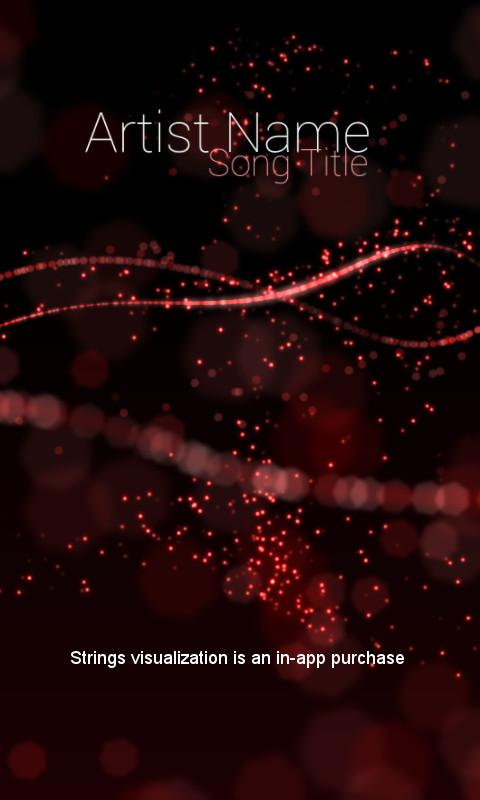 Audio Glow Music Visualizer- screenshot