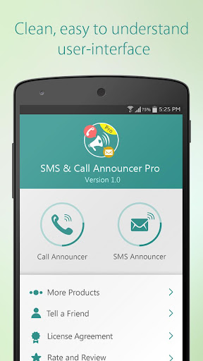 SMS Call Announcer Pro
