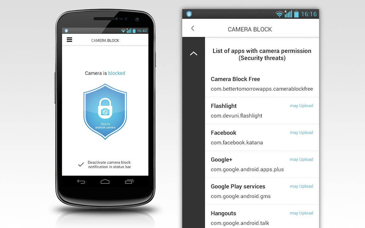Camera Block -Anti spy-malware - Android Apps on Google Play