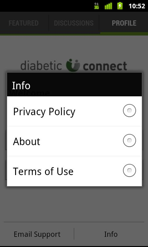 Diabetic Connect - screenshot