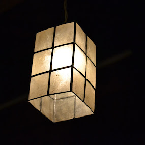 Lamp by Anjsh Lacanlale - Artistic Objects Other Objects ( lamp, light, capiz )