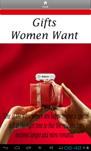 gifts women want