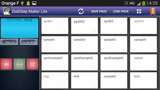 DubStep Maker Lite - screenshot thumbnail