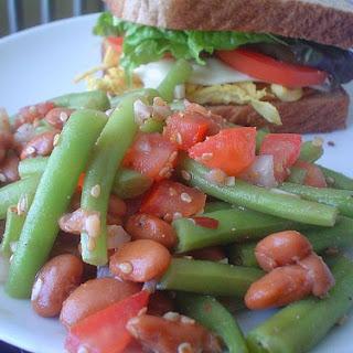 Vegetable Salad with Sesame Seeds