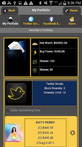 TwitNFace Stocks
