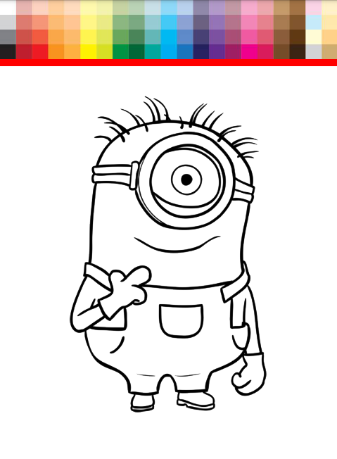 Coloring Book Minions : Coloring book minions google play store revenue & download