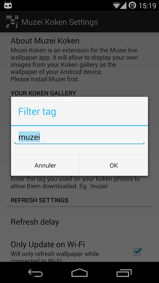 Muzei Koken- screenshot