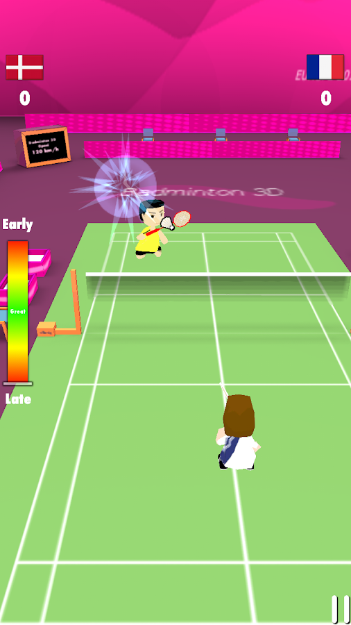 Badminton Smash 3D - screenshot