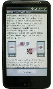 Cenový vyhledávač - OKO.cz - screenshot thumbnail