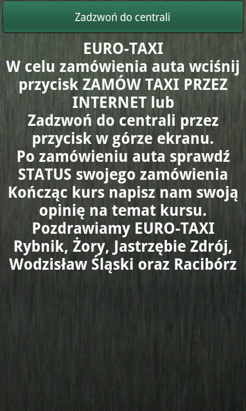 Euro24h.pl Taxi- screenshot