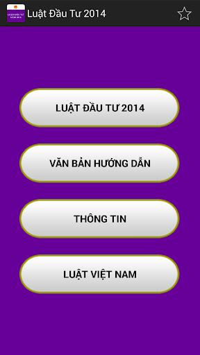Luat Dau tu Viet Nam 2014