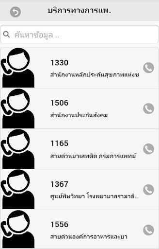 【免費社交App】เบอร์โทรฉุกเฉิน-APP點子