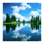 3D Lakes HD live Wallpaper