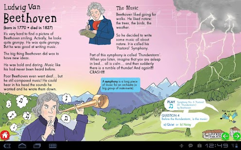 My First ClassicalMusic:tablet- screenshot thumbnail