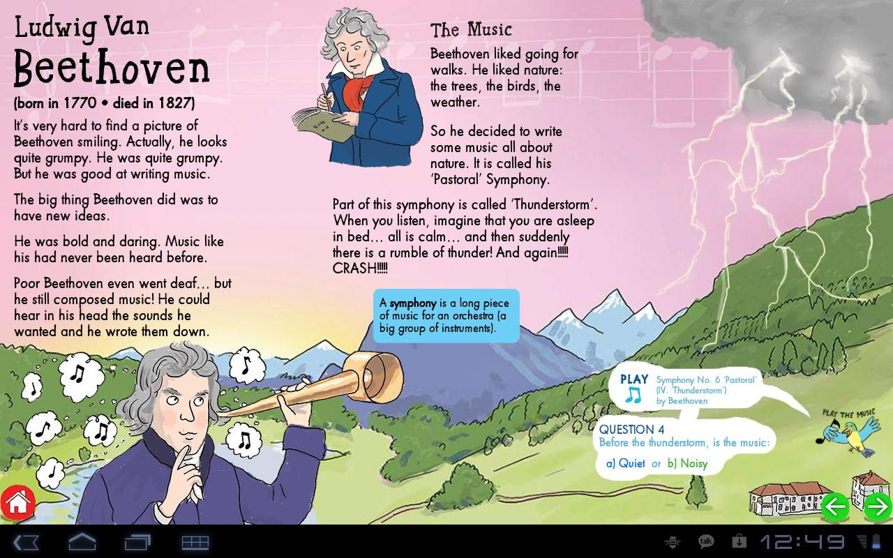 My First ClassicalMusic:tablet - screenshot