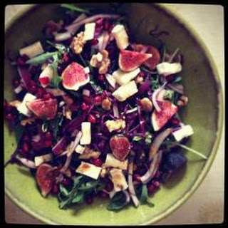 Figs And Goat's Cheese Salad