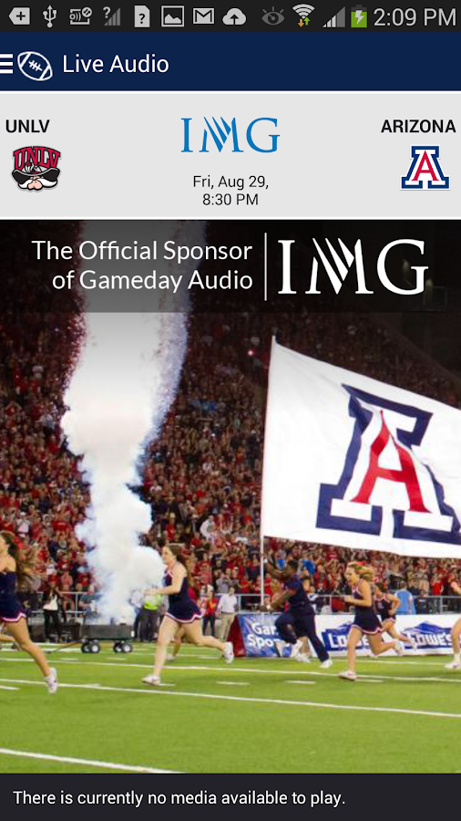 Arizona Wildcats Gameday- screenshot